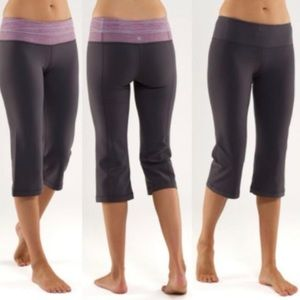 Lululemon Reversible Groove Crop Leggings